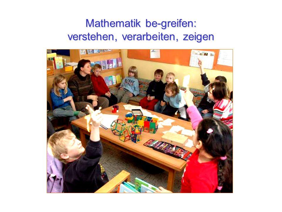 Mathematik be-greifen: verstehen, verarbeiten, zeigen