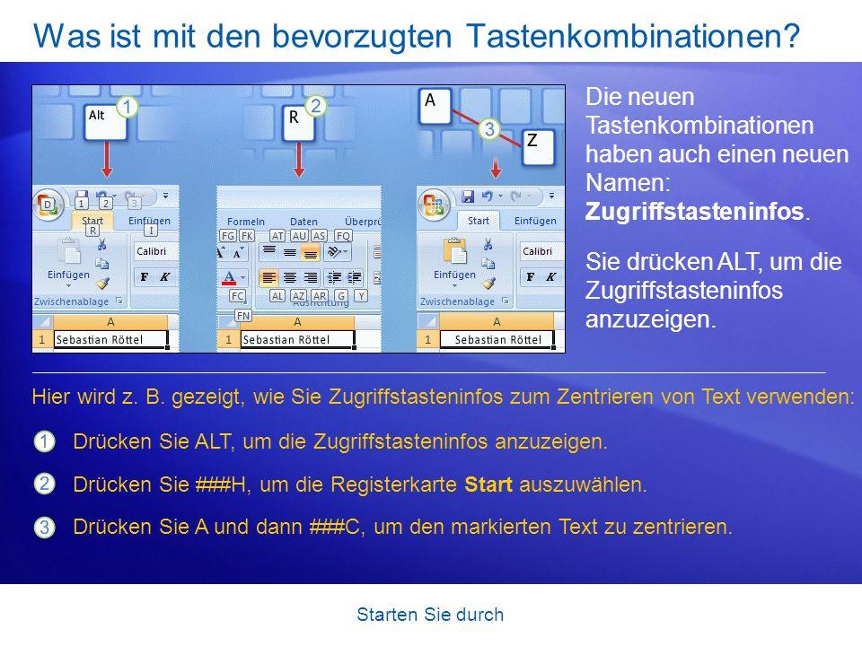 Starten Sie durch Arbeiten mit unterschiedlichen Bildschirmauflösungen Alles, was Sie bis jetzt gelesen haben, gilt dann, wenn der Bildschirm auf eine hohe Auflösung festgelegt ist und das Excel-Fenster maximiert ist.