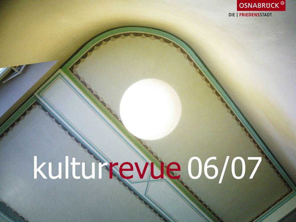 1. April Lagerhalle Shuttle-Lesung Prager Nacht Rückblick2006Rückblick2006 kulturrevue 06/07