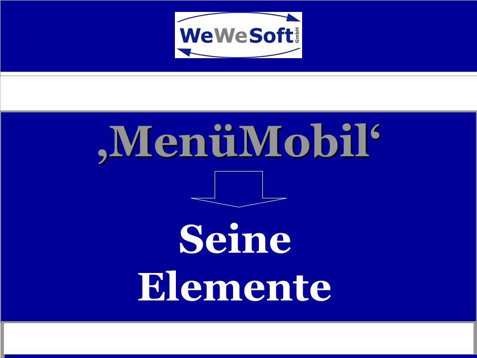 MenüMobil MenüMobil Seine Elemente