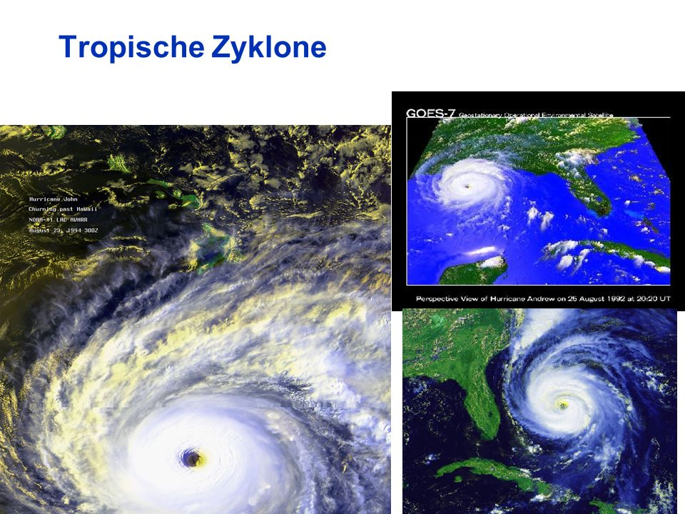 55 Tropische Zyklone