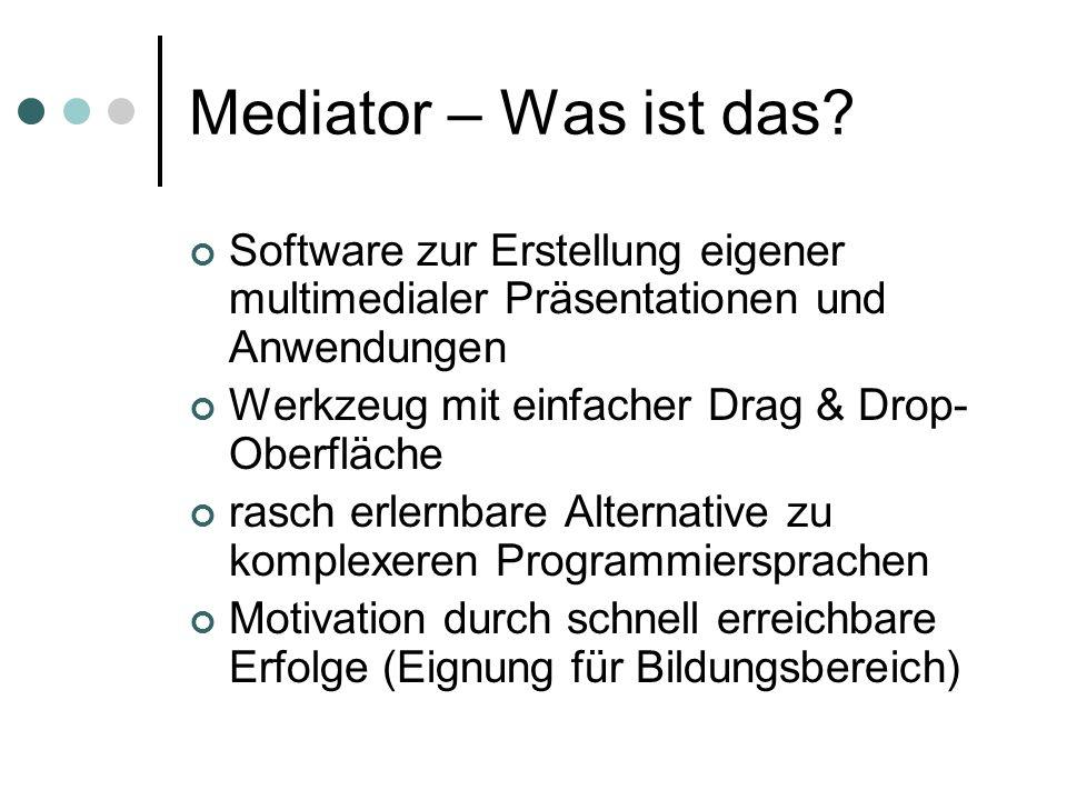 Mediator – Was ist das.