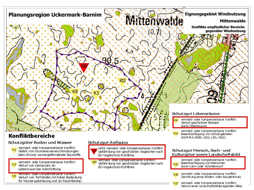 10.05.2007 Plan-UVP zu Wind- und Rohstoffnutzung Uckermark-Barnim 10