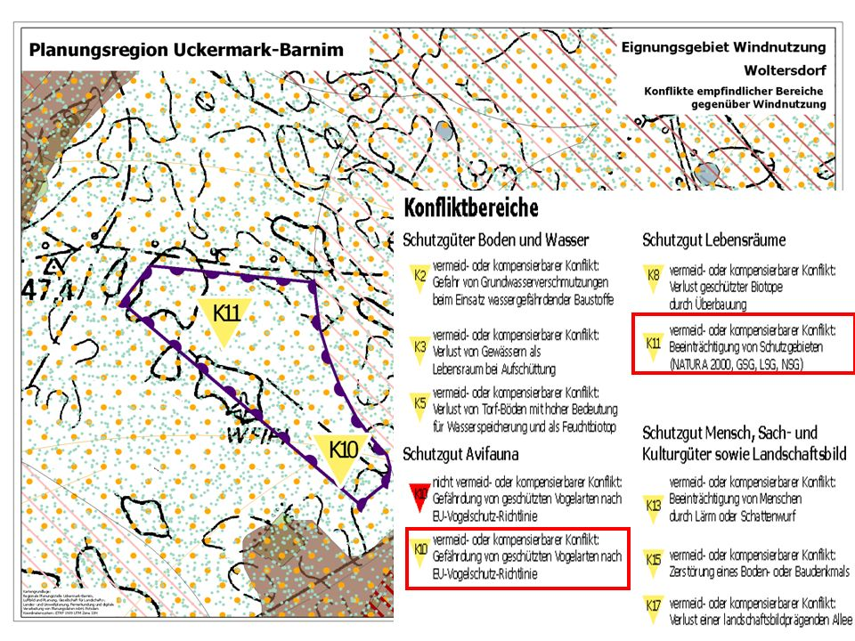 10.05.2007 Plan-UVP zu Wind- und Rohstoffnutzung Uckermark-Barnim 12