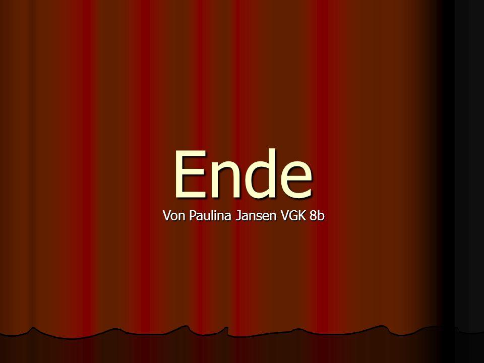 Ende Von Paulina Jansen VGK 8b