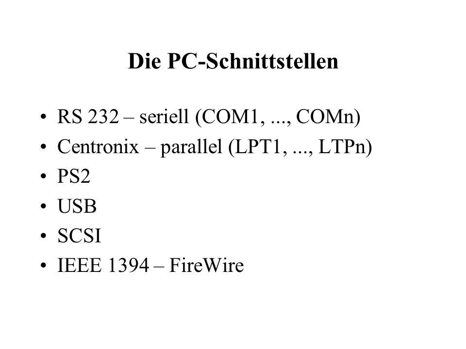 Die Laufwerke HDD – Das Langzeitgedächtnis FDD – Gedanken zum Wegwerfen CD-ROM/DVD – Frisbies im PC LS 120 / ZIP – Was ist das denn???