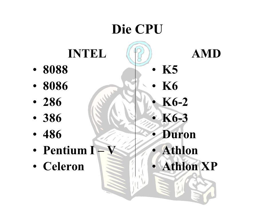 Die CPU Denkt ein Computer? Die CPU als Einpeitscher? Wie unterscheiden sich die einzelnen Chips in ihren wesentlichsten Merkmalen? Kann eine CPU auch