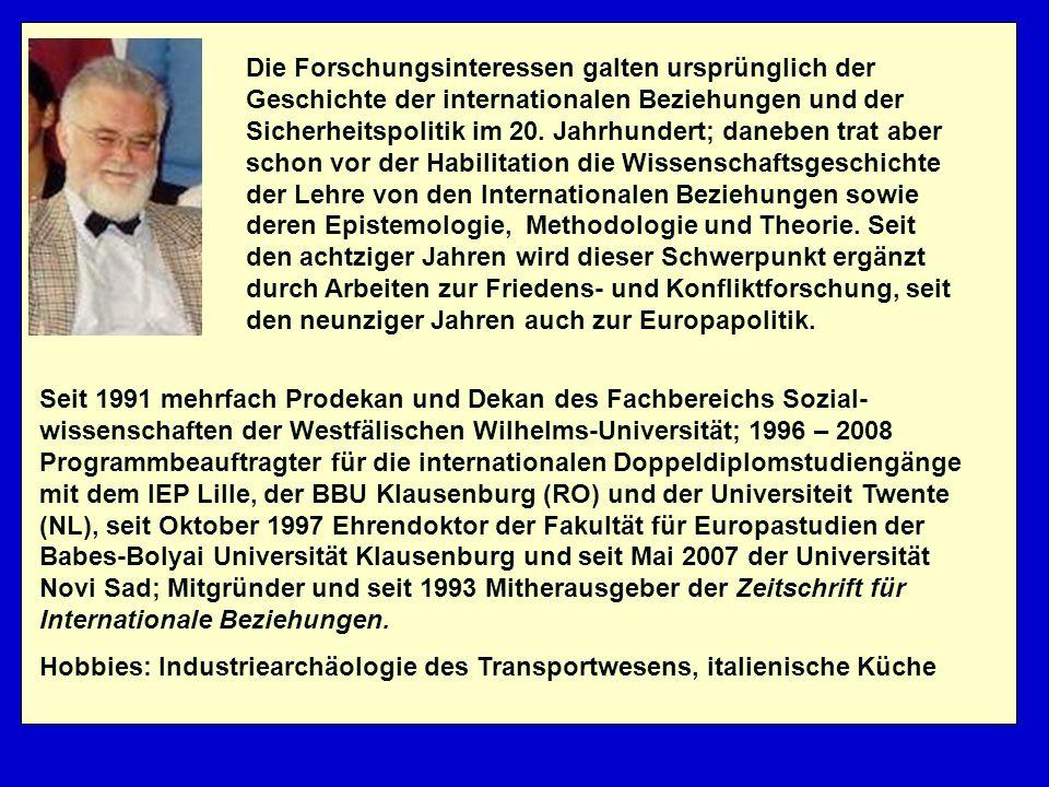 Introductions, Overviews and Critiques of IR Theory (2) Gert Krell: Weltbilder und Weltordnung.