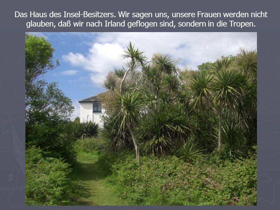Das Haus des Insel-Besitzers.