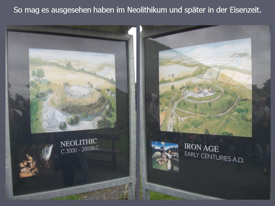 So mag es ausgesehen haben im Neolithikum und später in der Eisenzeit.