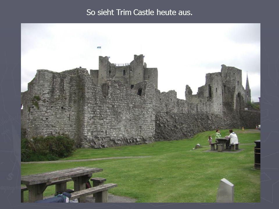 So sieht Trim Castle heute aus.