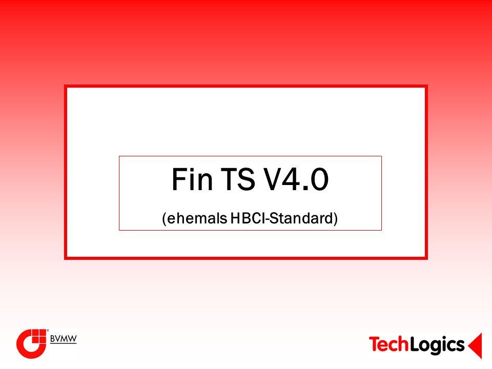 Fin TS V4.0 (ehemals HBCI-Standard)