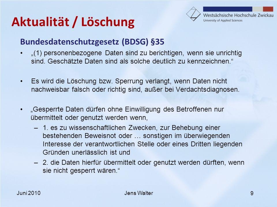 10 Aktualität / Löschung Deutsches Ärzteblatt Jg.105 | Heft 19 | 9.