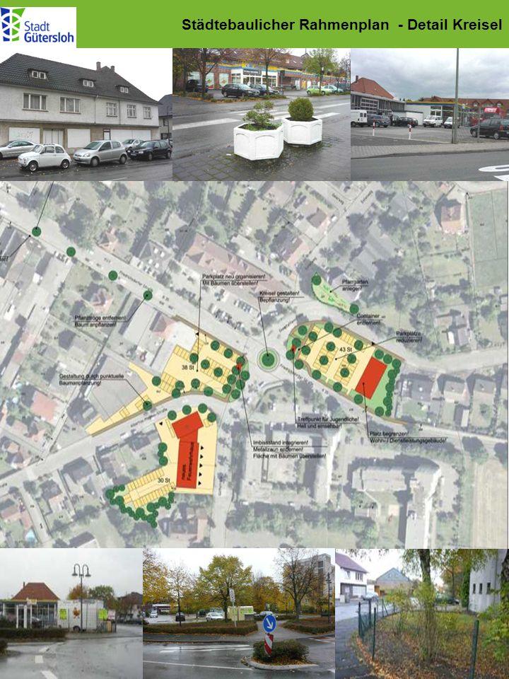 Städtebaulicher Rahmenplan - Detail Kreisel