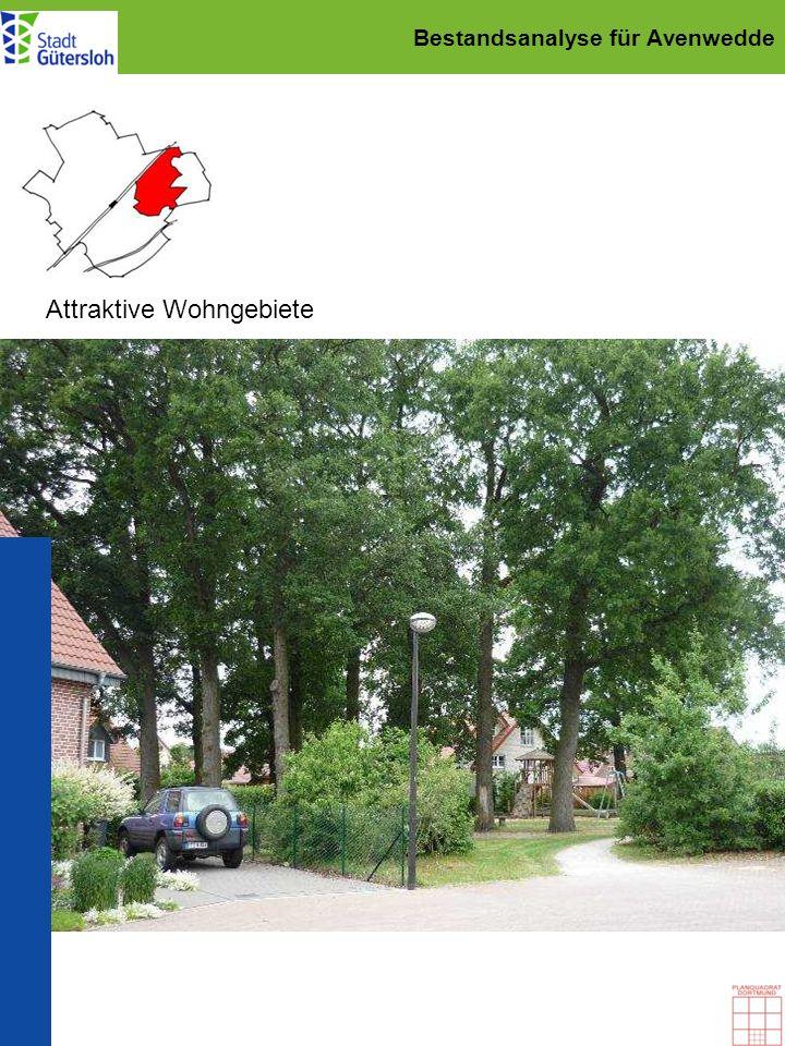 Städtebaulicher Rahmenplan für Avenwedde Grünraumplanung: Ergänzung des Wegenetzes Priorität 3 Rundwege nördlich Av.-Bhf.