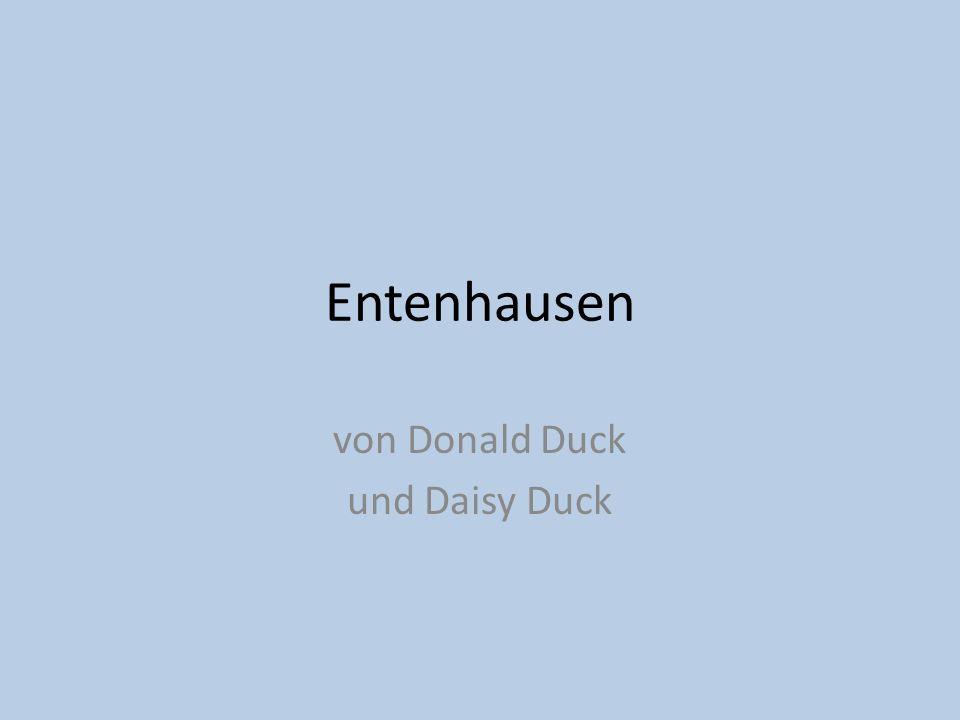 Entenhausen von Donald Duck und Daisy Duck