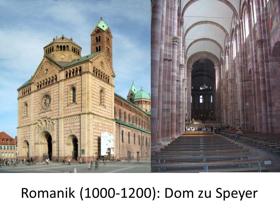 Romanik (1000-1200): Dom zu Speyer