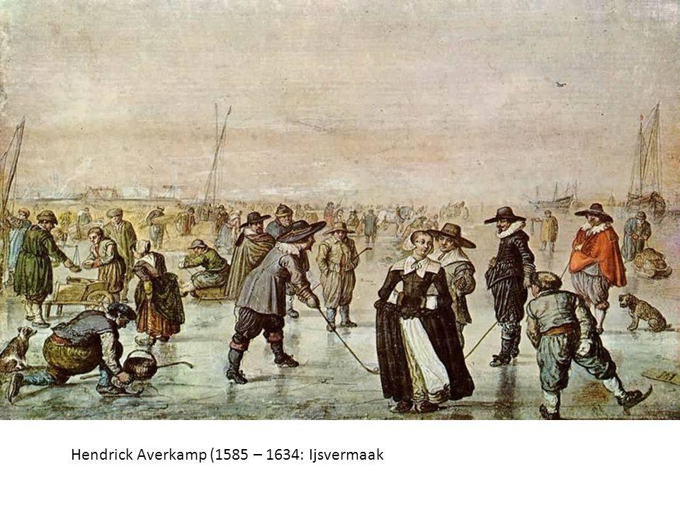 Hendrick Averkamp (1585 – 1634: Ijsvermaak