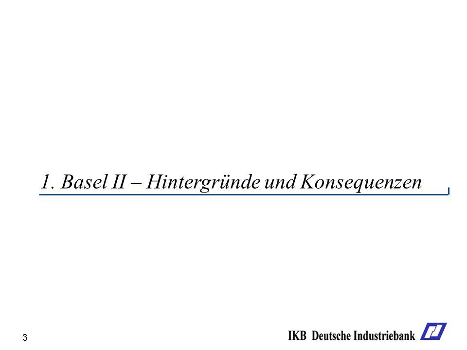 3 1. Basel II – Hintergründe und Konsequenzen
