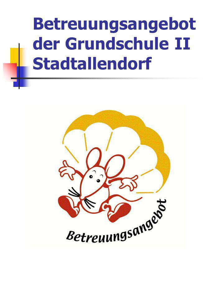 Betreuungsangebot der Grundschule II Stadtallendorf