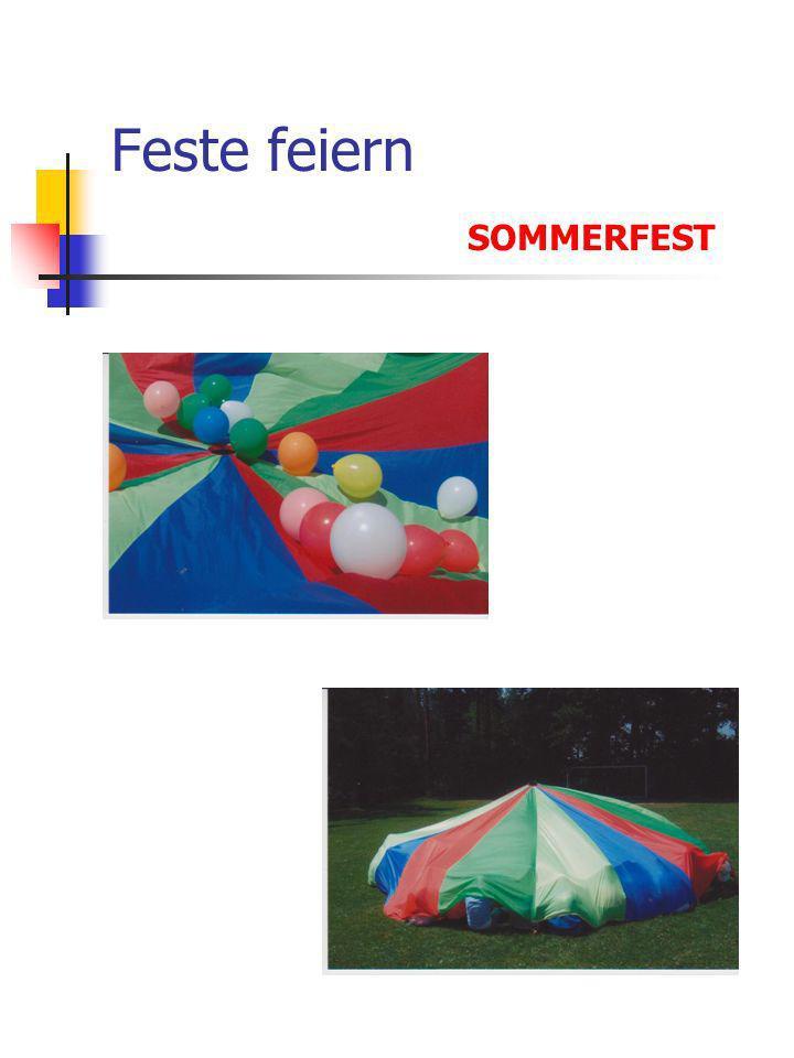 Feste feiern SOMMERFEST