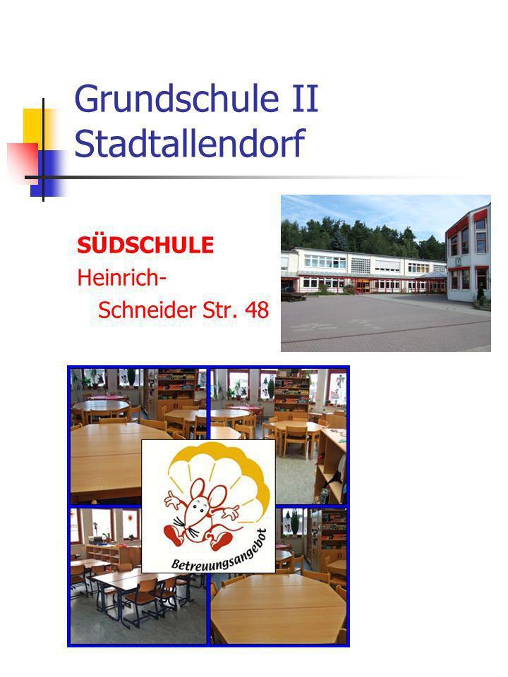 Grundschule II Stadtallendorf SÜDSCHULE Heinrich- Schneider Str. 48