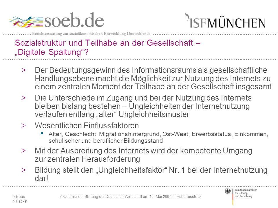……………………………………………………………………………………………………………………..……………… > Boes > Hacket Akademie der Stiftung der Deutschen Wirtschaft am 10. Mai 2007 in Hubertusstock S