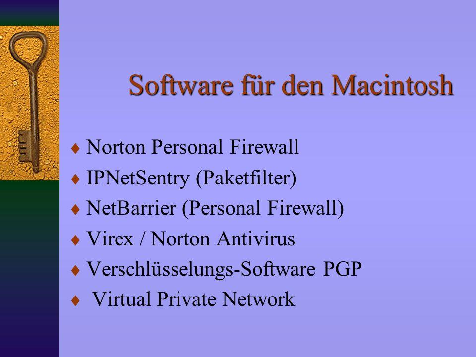 Was sollte ich tun? Gesundes Mißtrauen Gesundes Mißtrauen Anti-Virus Programm Anti-Virus Programm Personal Firewall Personal Firewall 2. Email-Adresse
