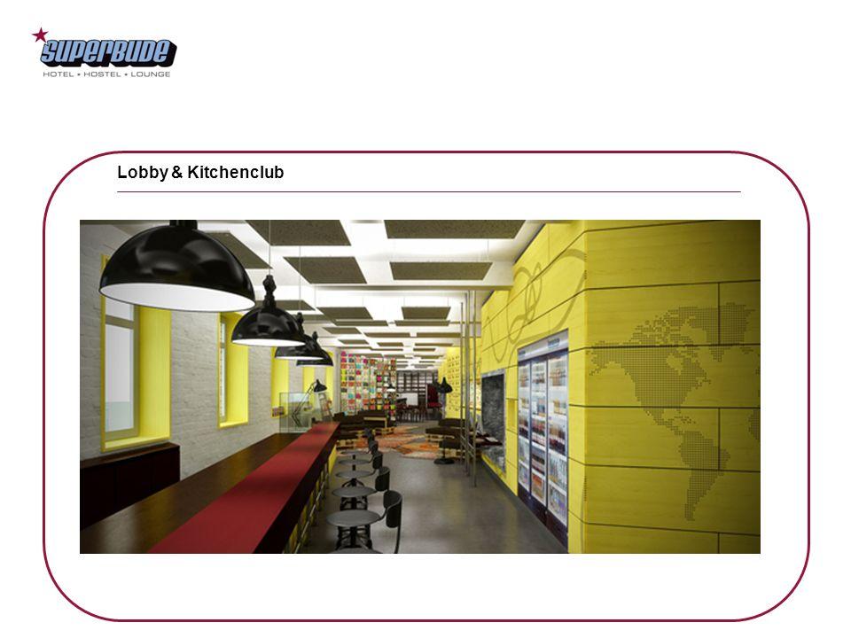 Lobby & Kitchenclub