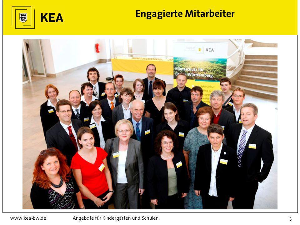 www.kea-bw.deAngebote für Kindergärten und Schulen3 Engagierte Mitarbeiter