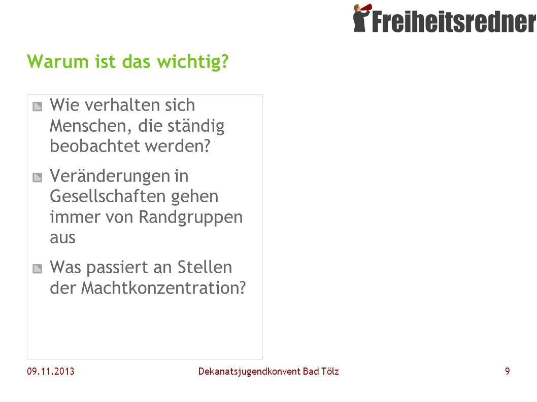 09.11.2013Dekanatsjugendkonvent Bad Tölz10 Keine Inhalte – kein Problem.