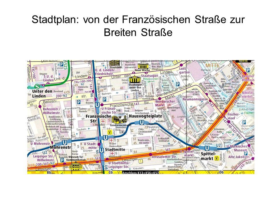 Spittelmarkt, Kurstraße, Adlerstraße, Spreegasse, Köpenicker Straße, Alte Jakobstraße, alte Pionierkaserne, Schlesisches Tor, Schlesischer Busch Wer findet diese Orte?