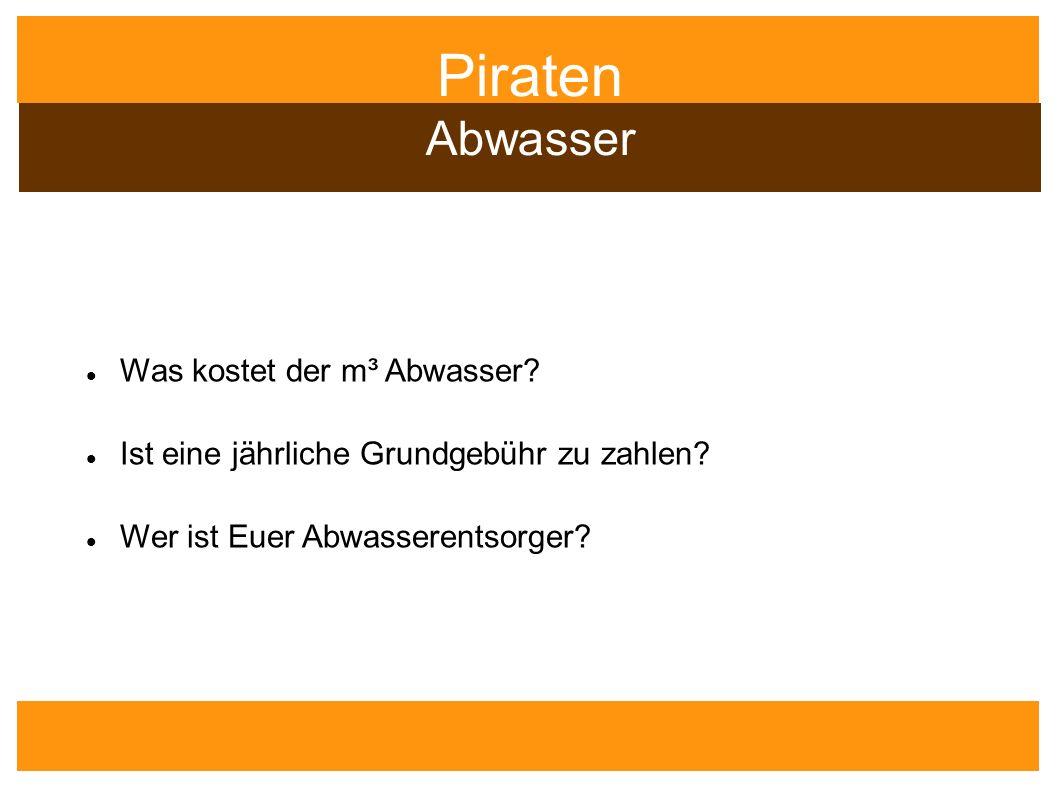 Piraten Wasser Verein Wasser Messe Berlin e.V.
