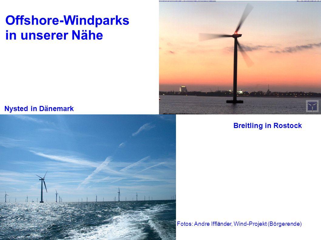 Stralsund, 05. Juni 2006Umwelttag2 Offshore-Windparks in unserer Nähe Nysted in Dänemark Breitling in Rostock Fotos: Andre Iffländer, Wind-Projekt (Bö