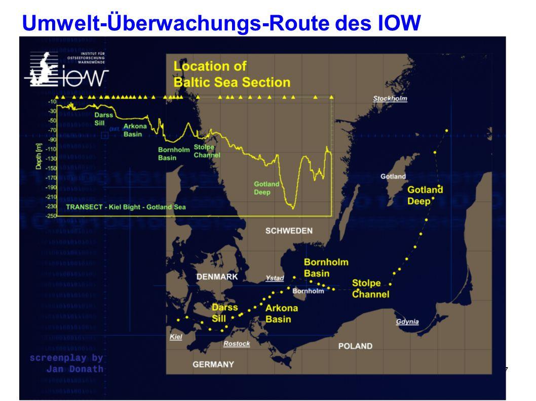 Stralsund, 05. Juni 2006Umwelttag7 Umwelt-Überwachungs-Route des IOW