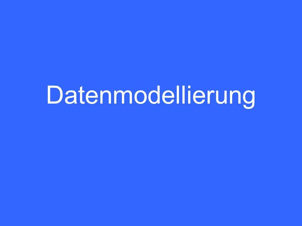2 Tätigkeit zur Strukturierung der Datenbestände Ziel: Redundanzarme systematische Beschreibung der zur jeweiligen computerunterstützten Arbeit mit einem DBMS benötigten Gegenstände, Begriffe und deren Zusammenhänge.