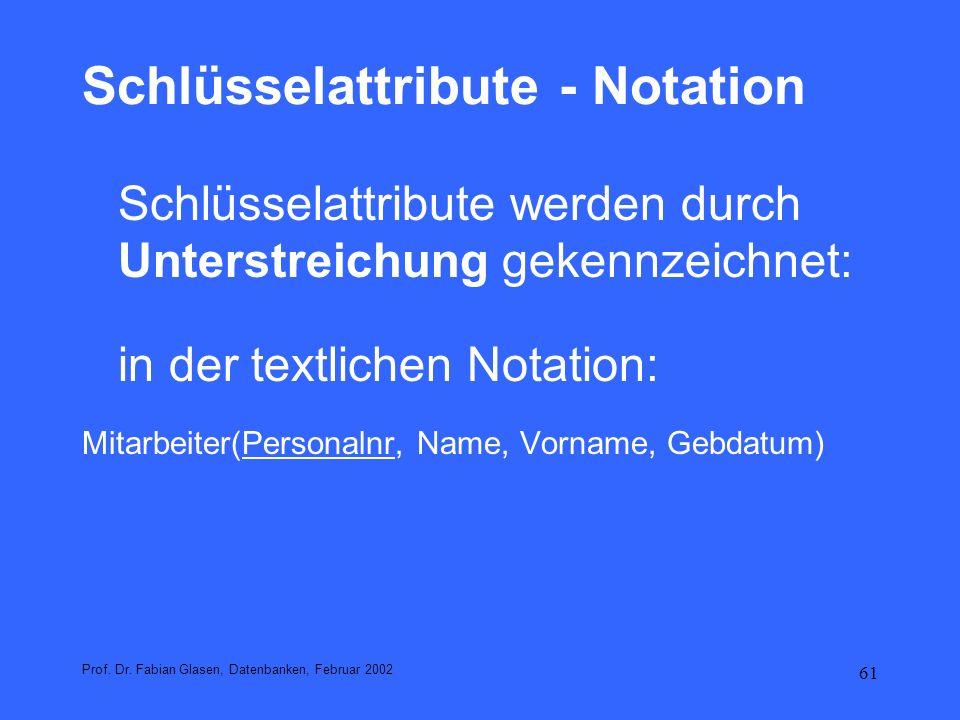 62 In der graphischen Notation Prof.Dr.