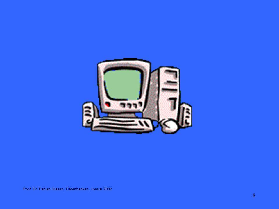 49 Datenunabhängigkeit Die ANSI SPARC 3 Schema-Architektur ermöglicht Datenunabhängigkeit An jedem Schema können Änderungen vorgenommen werden, ohne dass die anderen Schemata davon betroffen sind.