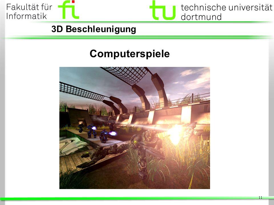 11 3D Beschleunigung Computerspiele