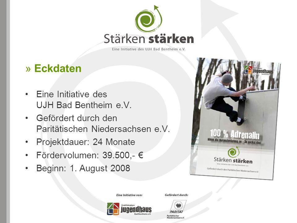 » Eckdaten Eine Initiative des UJH Bad Bentheim e.V. Gefördert durch den Paritätischen Niedersachsen e.V. Projektdauer: 24 Monate Fördervolumen: 39.50