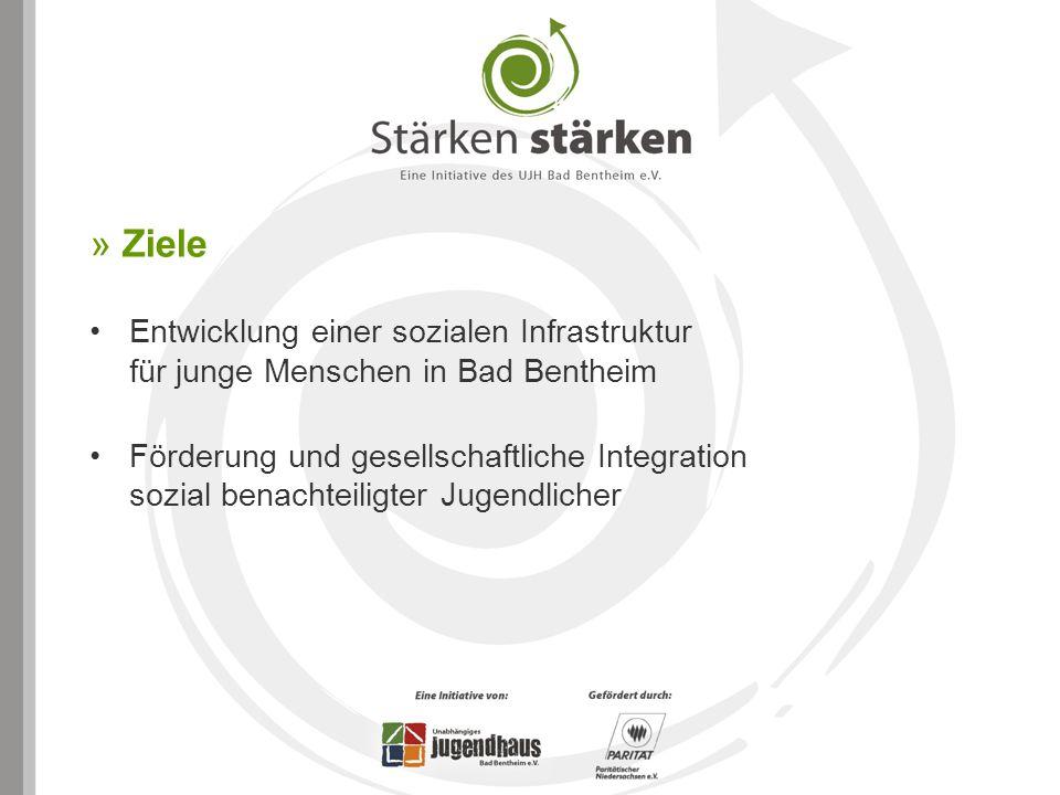 » Ziele Entwicklung einer sozialen Infrastruktur für junge Menschen in Bad Bentheim Förderung und gesellschaftliche Integration sozial benachteiligter