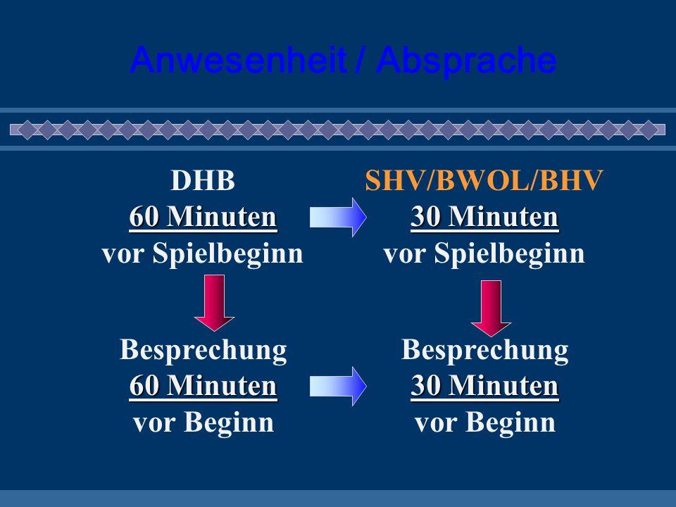 Anforderungsprofil für (vereinseigene) Zeitnehmer Sekretäre Neutralitä t Objektivität Kompetenz Souveränität