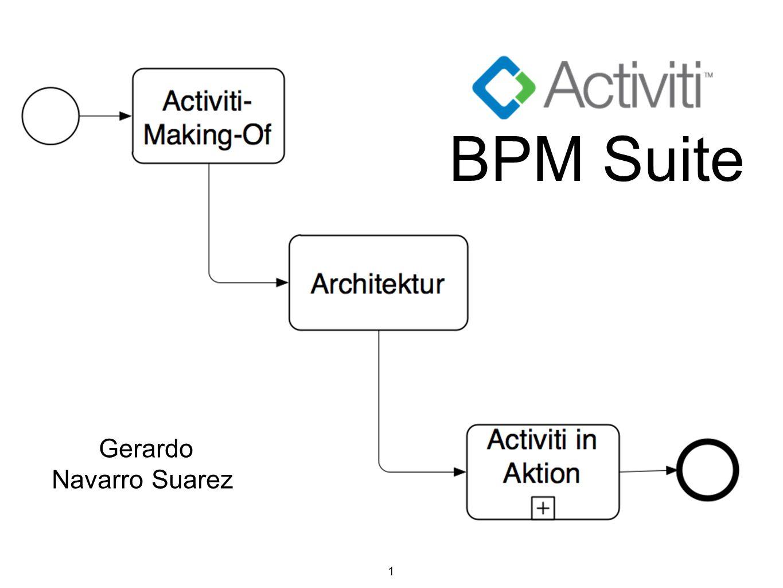 1 Gerardo Navarro Suarez BPM Suite