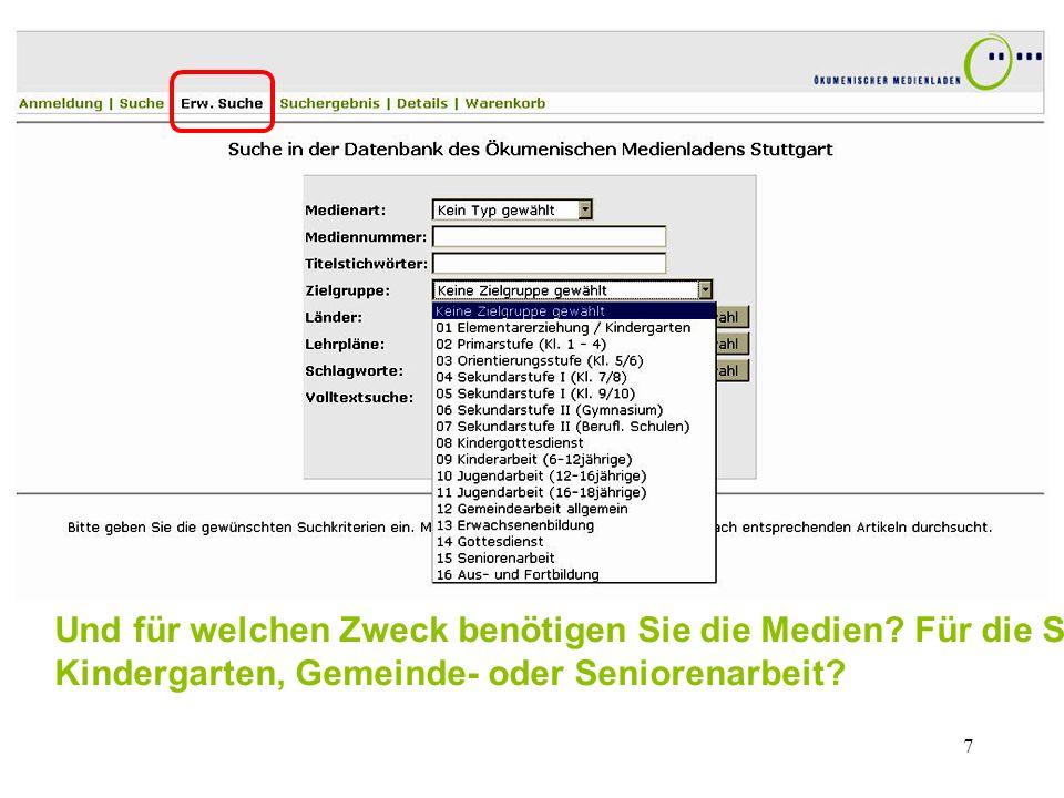 8 Alle Medien, die sich für den Religionsunterricht eignen, sind den Bildungsplänen für Baden-Württemberg zugeordnet – soweit wie möglich auch nach den neuen Standards.