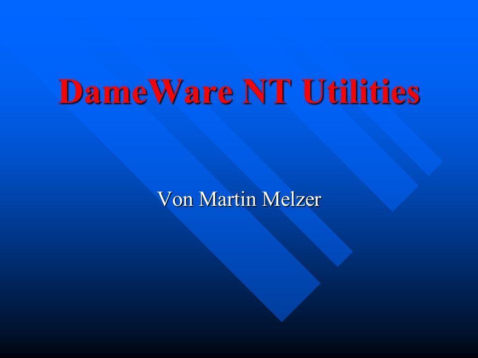 DameWare NT Utilities Von Martin Melzer