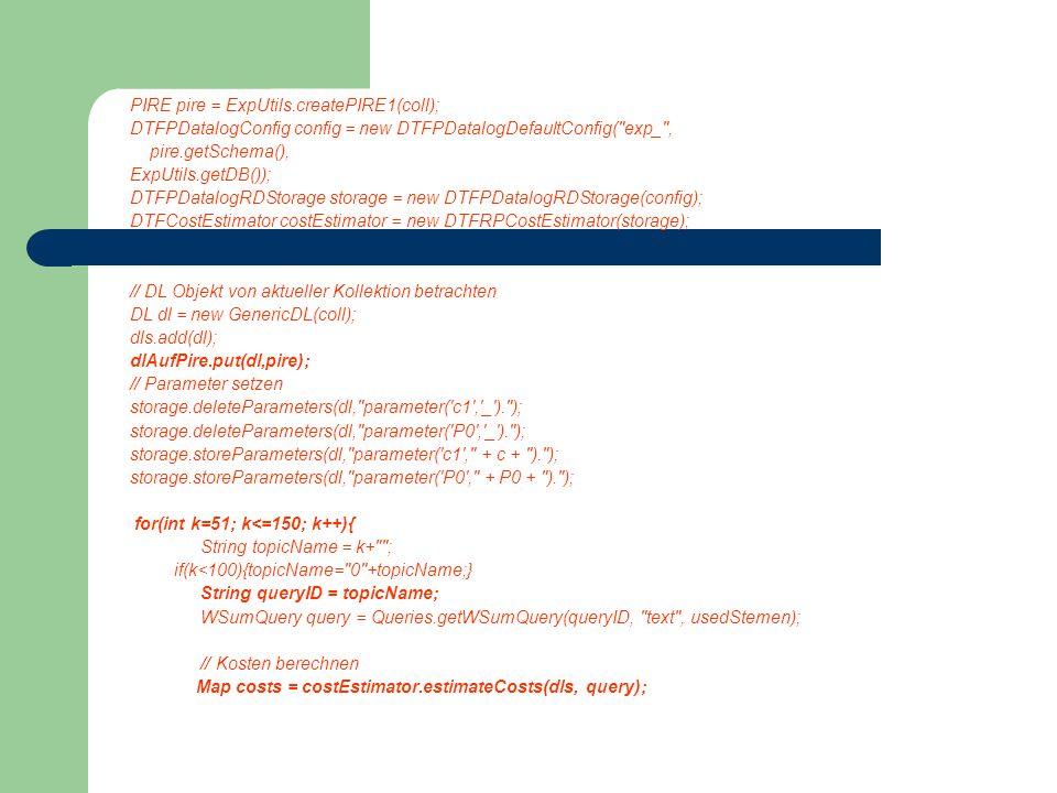 PIRE pire = ExpUtils.createPIRE1(coll); DTFPDatalogConfig config = new DTFPDatalogDefaultConfig(