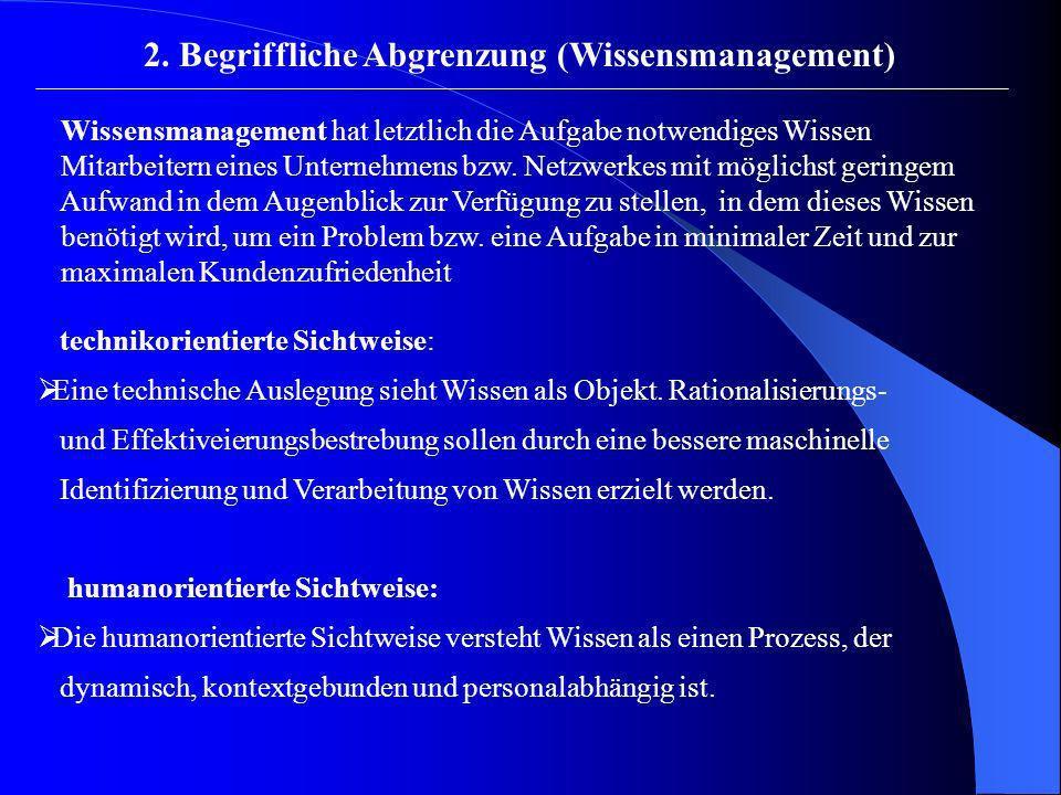 2.Begriffliche Abgrenzung (Kompetenzmanagement) Skill- bzw.