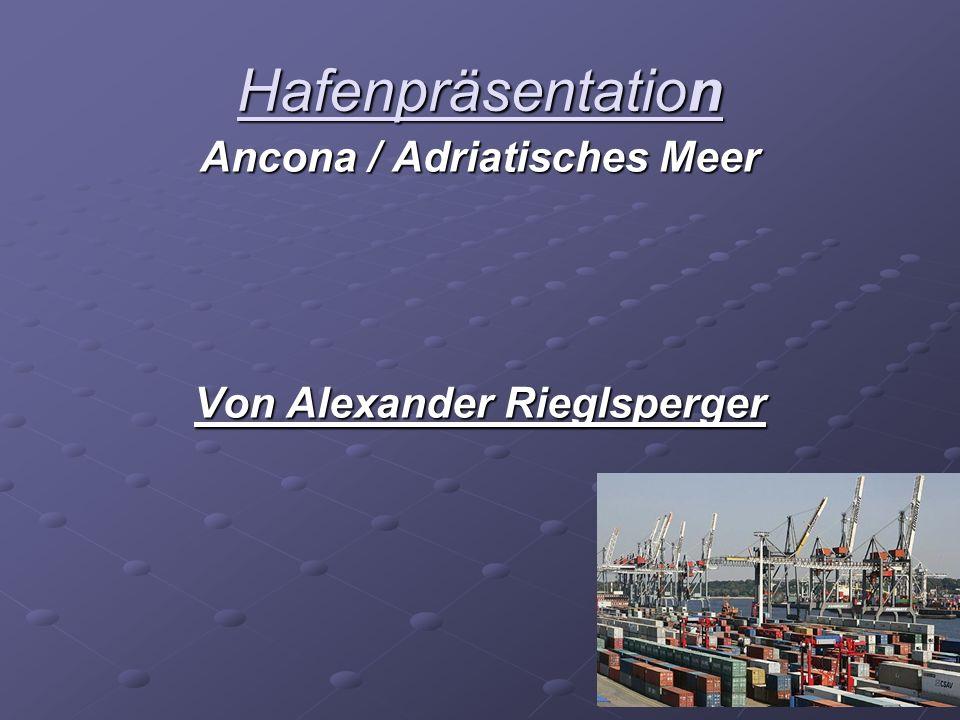 Hafenpräsentation Ancona / Adriatisches Meer Von Alexander Rieglsperger