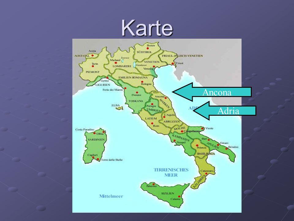 Ancona Adria Karte