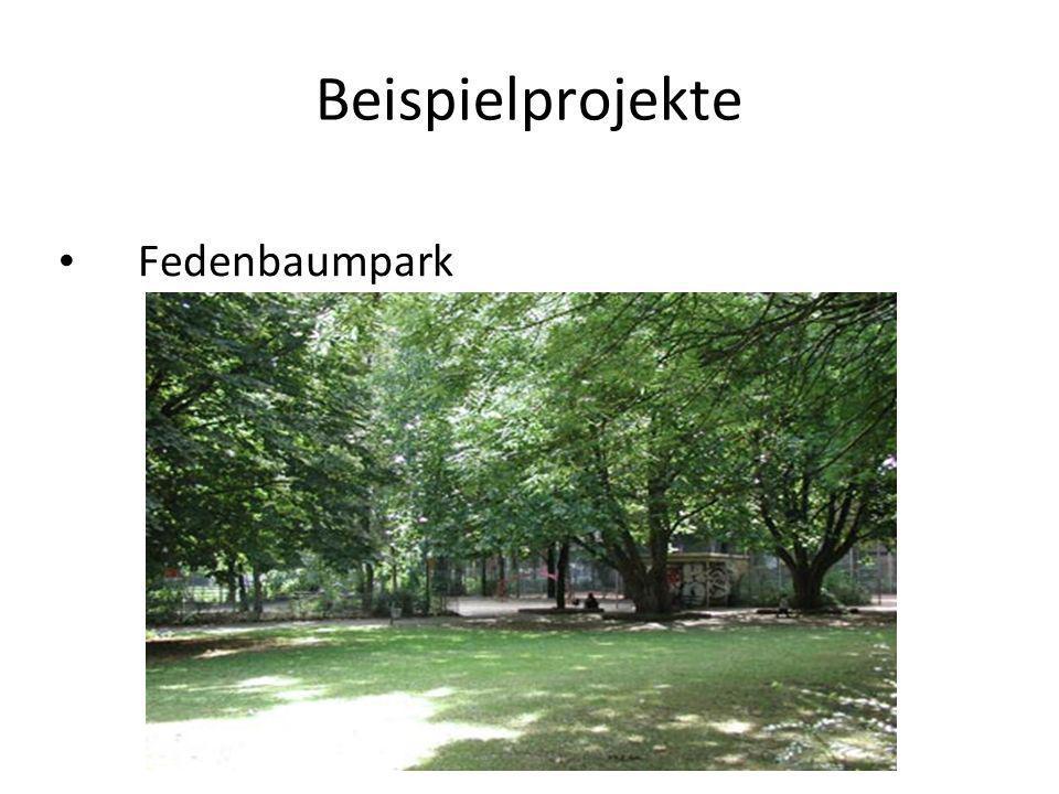 Beispielprojekte Fedenbaumpark